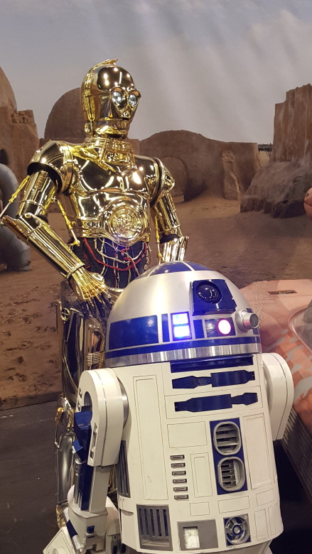 C3po and r2