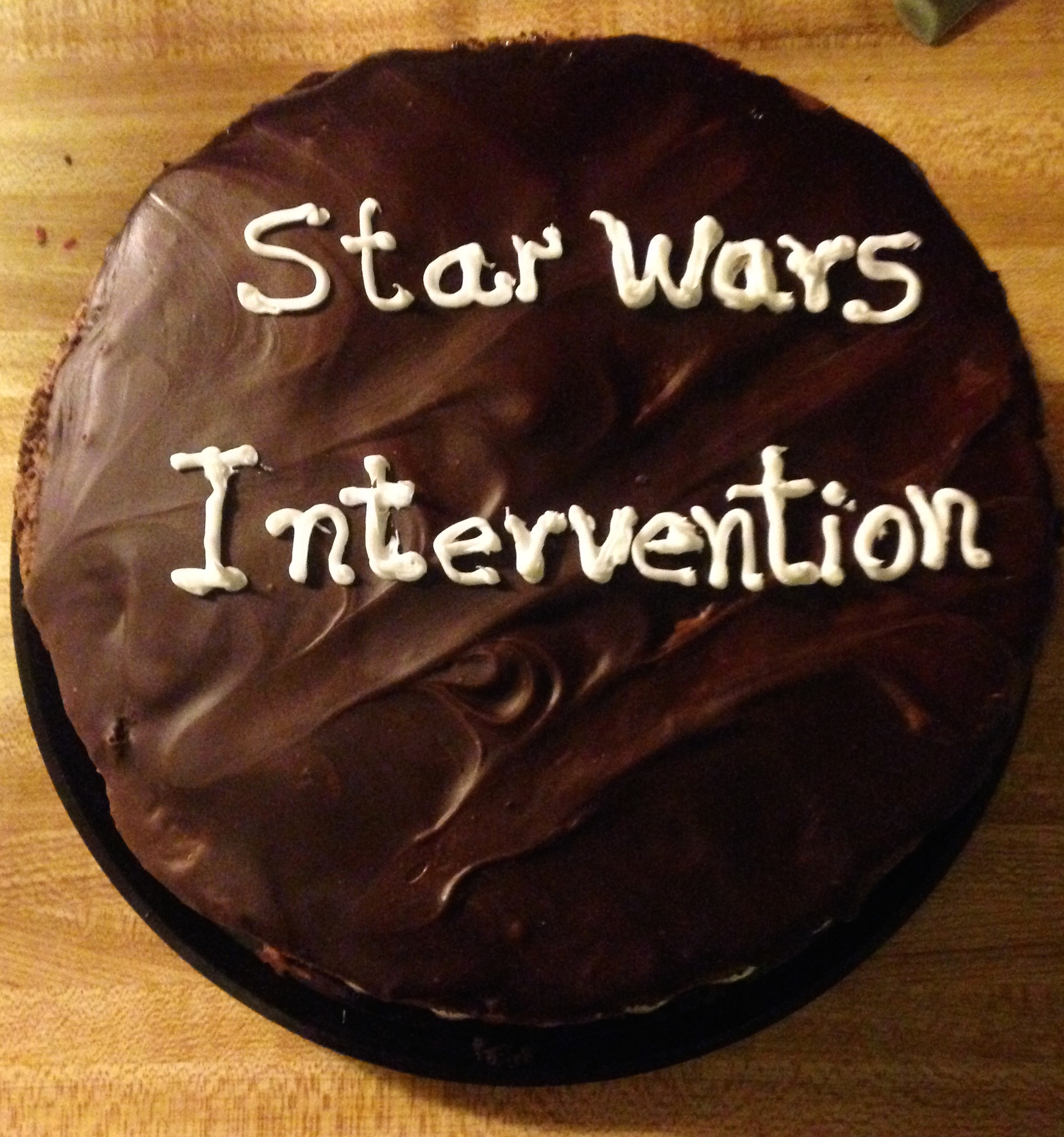 Using the Force: My Star Wars Intervention