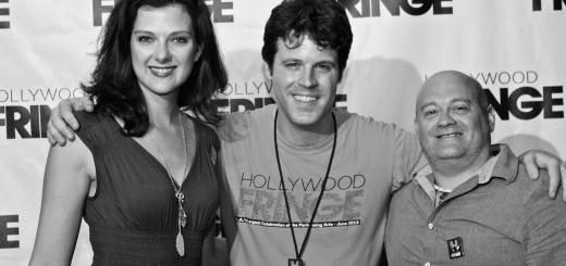 Natalie Lipka, Ben Hill (Festival Director) & Wayne Frazier
